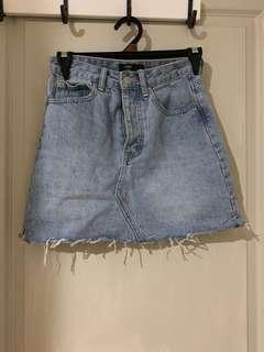 Glasson denim skirt