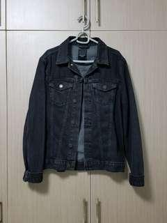 🚚 New Look Black Washed Denim Jacket