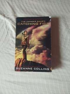 Catching Fire Hunger games- Suzanne Collins