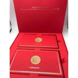 20個!Versace豬年利是封禮盒2019 Red Packet 名牌利是封(20pcs)包平郵 全新專櫃品 任何兩件商品95折 三套封以上包順豐