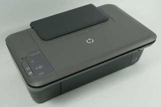 HP 1050 3-in-1 inkjet printer with half bottle original ink