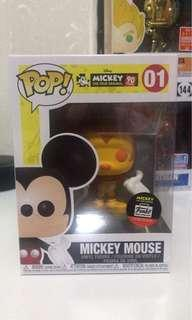Funko Pop Mickey Mouse 90th Orange and Red