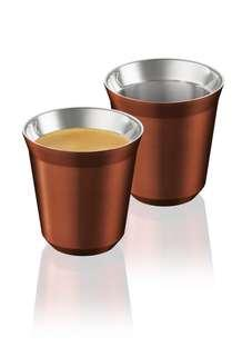 PIXIE Lungo Cups, Cherry Red X2