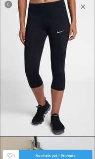 Nike dri fit 3/4 tights