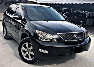 TOYOTA HARRIER 2.4 G SPEC ELECTRONIC SEAT