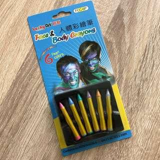 Face & Body Crayons - non toxic