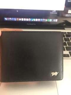 Flip Wallet Braun Buffel Hitam