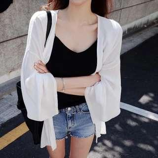 White summer outer