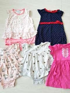 🚚 Baby Girl Clothes 0 to 12 months