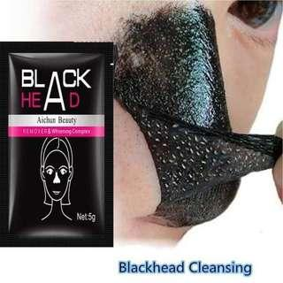 Blackhead Remover Charcoal Black Mud Face Mask Nose Repair Deep Cleaning