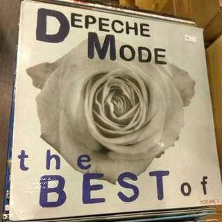 3LP Depeche Mode. Best. Piring Hitam, VInyl, Record