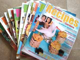 Celebrity Recipes - Cooking magazines