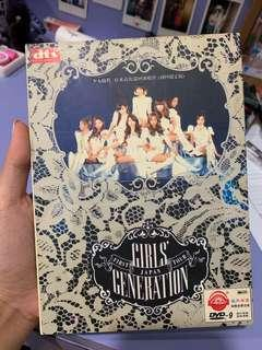 Girls' generation first Japan tour collection