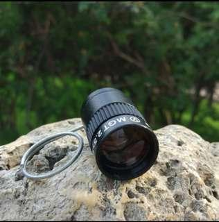 🚚 [ High Positive Rating ] Subminiature Mini Monocular Telescope 2.5X17.5HD High Power Pocket Key Chain Telescope for Outdoor Hiking Camping Sports 354
