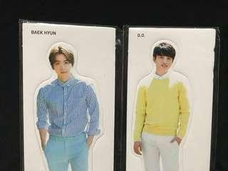 EXO OFFICIAL NATURE REPUBLIC STANDEES