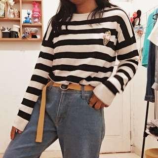 Sweater stripe ice cream