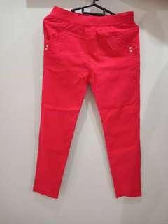 Rubber pants