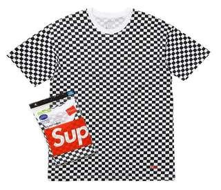 Supreme Hanes Checkered Original