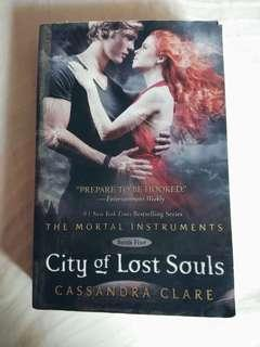 City Of Lost Souls - The mortal Instrument