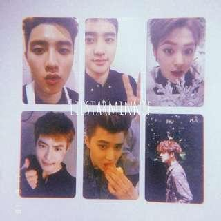 (SALE!) EXO Official Photocard D.O Suho Xiumin