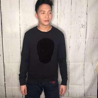 Mossimo Unisex Skull Sweater