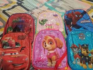 Kids character bags
