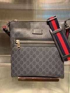 Gucci supreme small messenger bag
