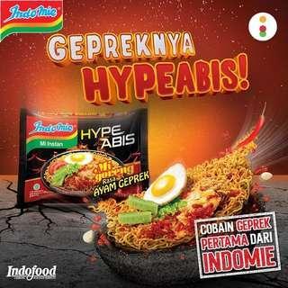 Indomie Ayam Geprek / Indomie Geprek