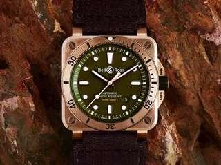 Bell & Ross Diver BR03-92 Cortina collaboration