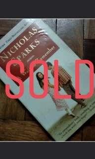 Nicholas Sparks Novels for Sale