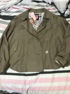 Juicy couture cape jacket M