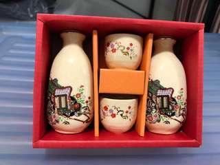 Japan sake wine set