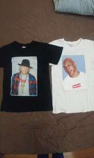 Paket T-shirt Supreme Neil Young & Mike Tyson