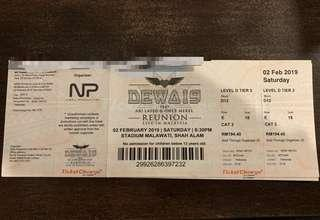 Dewa19 concert tickets