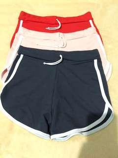 REPRICED!!! Cotton soft dolphin shorts (bundle of 3)