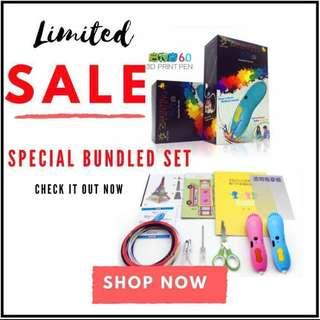 🚚 Kids Magical 3D Pen - Draws In The Air! NATIONAL DAY PROMOTION