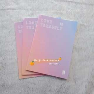 [FANMADE] BTS LOVE YOURSELF ANSWER NOTEBOOK
