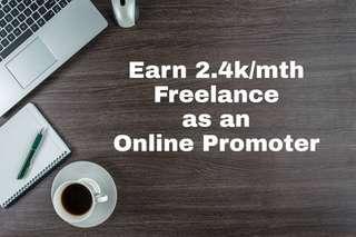 2.4k/mth Freelance