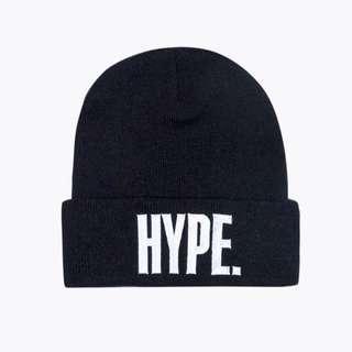 Hype 電繡logo毛帽