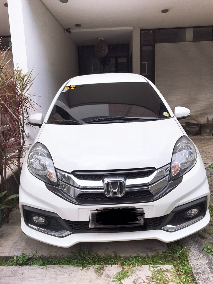 Honda Mobilio 2016 Rs Navi At Pearl White Cars Cars For Sale On