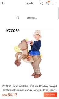 🚚 Cowboy inflatable horse costume *reduced*