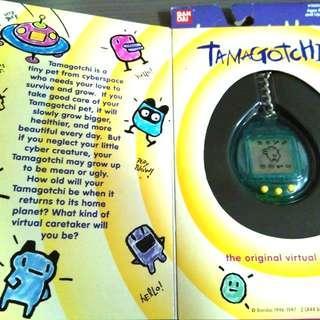 他媽哥池 Tamagotchi 電子雞育成 1997年版 全新未開過