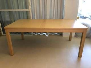 🚚 Extendable dining table
