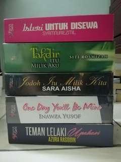 Preloved Novel Melayu