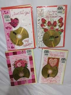 Valentines day cards with CD