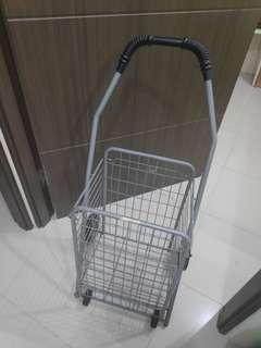 Shopping trolley (foldable)