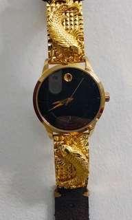 🚚 Gold Watch