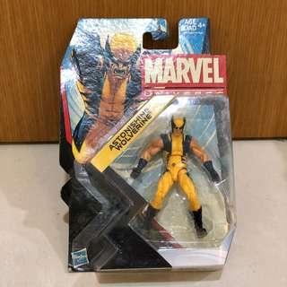 🚚 Marvel Universe Infinite Astonishing Wolverine lot action figure 3.75 New NIB MOSC Yellow Hasbro Civil War