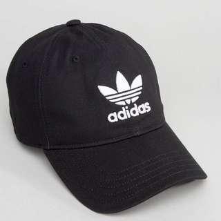 Adidas 三葉logo老帽/黑色