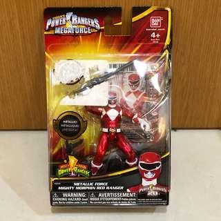 Power Rangers Metallic Force red ranger jason